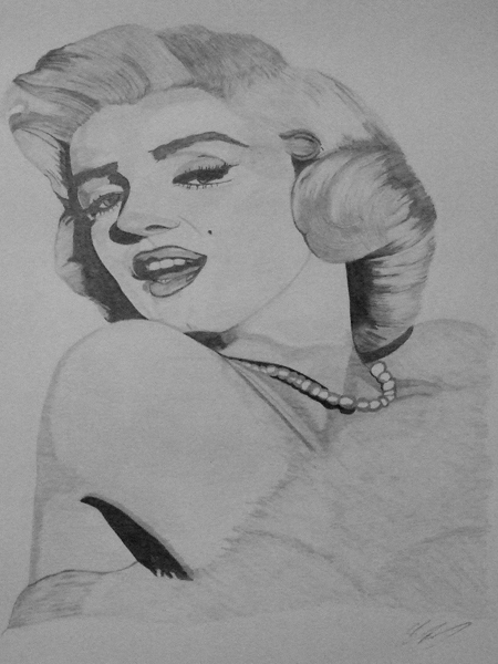 Marilyn Monroe by Inervisions